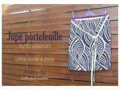 HAPPY Diy : la jupe super méga facile à faire Bettinael.Passion.Couture.Made in france