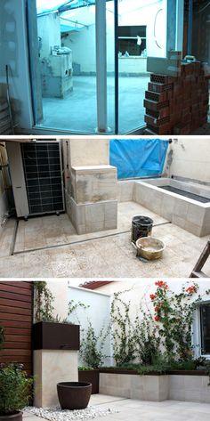 Fuente de agua lineal estanques y fuentes de agua - Fuentes de patio ...