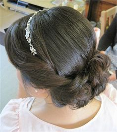Wedding Makeup Vintage Gatsby Prom Hair For 2019 Wedding Hairstyles With Veil, Bride Hairstyles, Headband Hairstyles, Vintage Hairstyles, Down Hairstyles, Bridal Hair With Veil Updo, Vintage Wedding Hair, Wedding Hair Down, Wedding Hair And Makeup