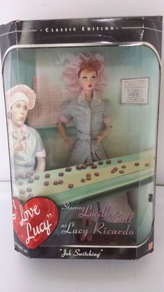 """I LOVE LUCY BARBIE """"JOB SWITCHING"""" Classic Edition Episode 39"""