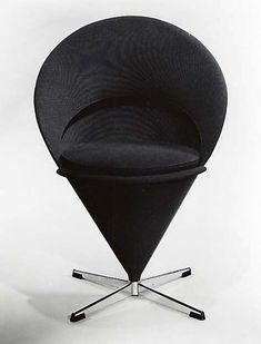 """CONE"" CHAIR Verner Panton (Danish, Gamtofte 1926–1998 Copenhagen)"