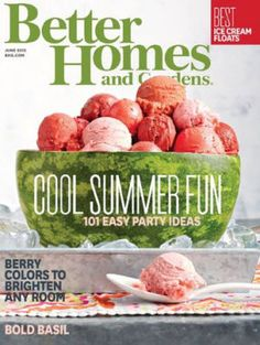 Free Subscription to Better Homes and Gardens (US only)