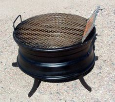 Tire Rim Grill Samples