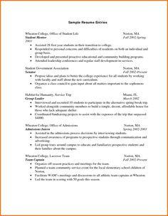 resume builder for students