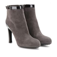 Grey Tods suede ankle boots