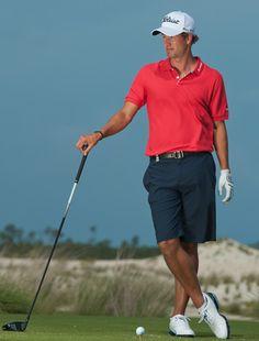Look, no pants - SHORTS!                     Adam Scott - Golf Digest