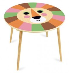 Update kids' room with our wide range of modern children's furniture, like this wooden Lion table by Vilac and Ingela P Arrhenius. Kids Play Table, Kids Table And Chairs, Kid Table, Modern Childrens Furniture, Kids Furniture, Activity Toys, Wooden Tables, Bedroom Decor, Kid Furniture