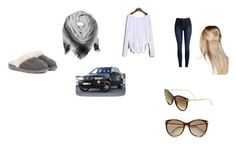 """cold front"" by livgirl-10 ❤ liked on Polyvore featuring BeckSöndergaard, UGG, Boohoo, Gucci and BMW"