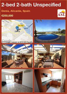 2-bed 2-bath Unspecified in Denia, Alicante, Spain ►€250,000 #PropertyForSaleInSpain