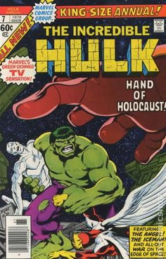 Incredible Hulk Annual # 7 by John Byrne & Bob Layton Hulk Marvel, Marvel Comics Superheroes, Hulk Comic, Marvel Comic Books, Comic Books Art, Comic Art, Marvel Heroes, Univers Marvel, Vintage Comic Books