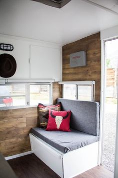 Glimpse inside 'Loretta:' A tiny vintage trailer packed with style
