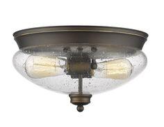 Z-Lite Amon 722F2-OB Flush Mount Light