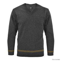 Hufflepuff™ V-Neck School Sweater | Hufflepuff™ | Warner Bros Studio Tour London