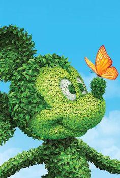 Epcot flower & garden festival. #flowers #gardening #epcot #creativity #gardenart #mickeymouse #festival