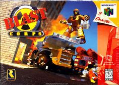 Old school video games: BLAST CORPS. Repin if you remember!
