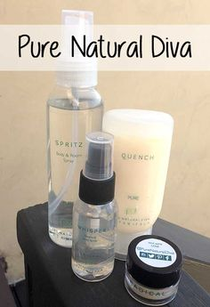 Pure Natural Diva Bath and Body Scents | My Beauty Bunny