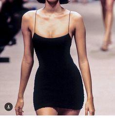 Black 90s dress