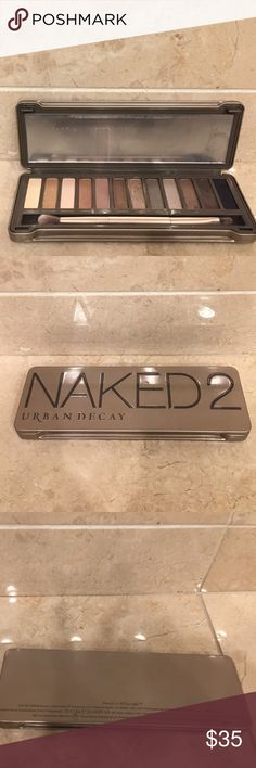Urban Decay Naked 2 palette Urban Decay Naked 2 palette. Used a few colors a couple of times. Some never touched. See pictures. Urban Decay Makeup Eyeshadow