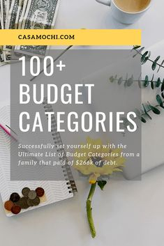 The Ultimate Budget Category List! Over 100 budget categories! The Ultimate Budget Category List! Budgeting Worksheets, Budgeting Finances, Budgeting Tips, Ways To Save Money, Money Tips, Money Saving Tips, Money Hacks, Making A Budget, Making Ideas