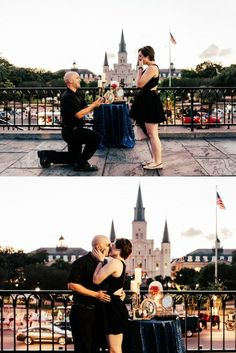 This Disney inspired proposal is so magical! He thought of everything, including Beauty and the Beast music and decor.