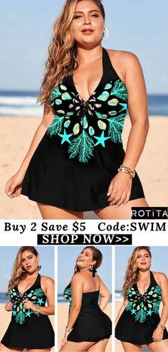Plus Size Swimwear Beach Swimsuits, Bikinis, Country Farmhouse, Farmhouse Decor, Rihanna Bikini, Plus Size Swimwear, Swim Dress, Swim Wear, Beachwear