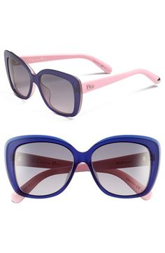 Dior 56mm Sunglasses available at #Nordstrom