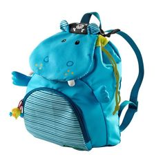 Lilliputiens Arnold Nilpferd Pirat Kinderrucksack Seesack aus der Kollektion On the Move