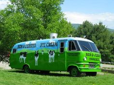 Driving down Rte. 100 N towards Stowe? Don't forget to stop for the scoop at Ben & Jerry's Ice Cream!