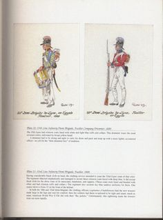 Army of Egypt: Plate 22: 25th Line Infantry Demi-Brigade, Fusilier Company Drummer, 1800. + Plate 23: 32nd Line Infantry Demi-Brigade, Fusilier, 1800.