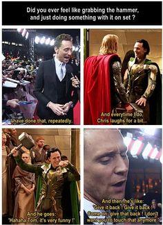 Awwww we still love you Tom!