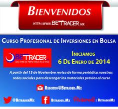 Recuerda¡¡ debes confirmar tus datos en: registro@betrader.mx