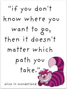 """On how any path can lead you anywhere. 