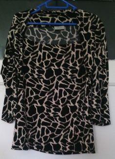 Kaufe meinen Artikel bei #Kleiderkreisel http://www.kleiderkreisel.de/damenmode/kurzarmlig/105647016-elegantes-stylisches-leoprint-shirt-neu