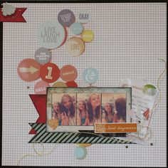 Barb used the Sea Breeze Scrapbooking Kit from Frosted Designs to create this layout. frosted-designs.com