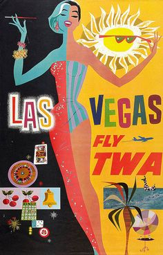 Vintage travel poster inspiration