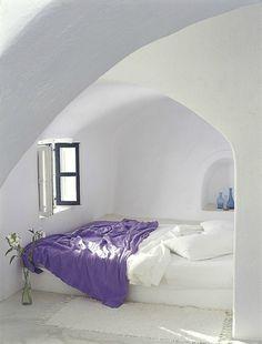 greek island room interior // decoholic