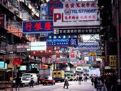 Hong Kong, great urban architecture