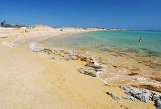 Playa Carratois, Portopalo di capo Passero, Punta delle Formiche, Siracusa, Sicily