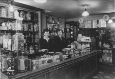 Grocers counters