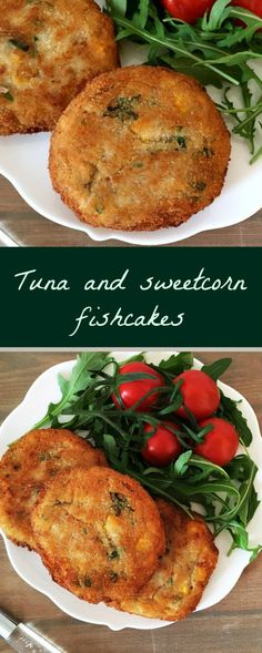 Tuna and sweet corn fishcakes, a fantastic meal for any fussy eater. Quick and easy to make, these fishcakes taste so much better than the store-bought fishcakes. Tuna Dishes, Fish Dishes, Seafood Dishes, Tuna Recipes, Seafood Recipes, Cooking Recipes, Healthy Recipes, Sweet Corn Recipes, Healthy Food