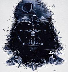 """Cartazes promovendo a exposição """"Star Wars Identities"""" …"""