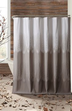 Free shipping and returns on kensie 'Ingrid' Shower Curtain at Nordstrom.com. <b>Limited Time Savings: Save 20% on selected items for bed, bath and home, now through January 19, 2015.</b><br><br>An ethereal nature-inspired print defines a striking cotton shower curtain in neutral hues designed to complement your bathroom décor.