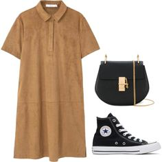 A fashion look from June 2017 featuring MANGO dresses, Converse sneakers and Chloé shoulder bags. Browse and shop related looks.