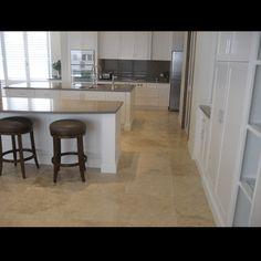travertine flooring