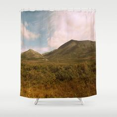 Original photography by Devin Horoszewski. Customize your bathroom decor with unique shower curtains designed by artists around the world. Made from 100% polyester our designer shower curtains are printed in the USA and feature a 12 button-hole top for simple hanging. The easy care material allows for machine wash and dry maintenance. Curtain rod, shower curtain liner and hooks not included. Dimensions are 71in. by 74in.