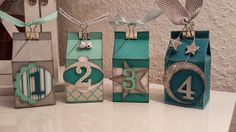 Advent Calendar with Stampin 'UP! / Workshop Report | Delia Paperworld