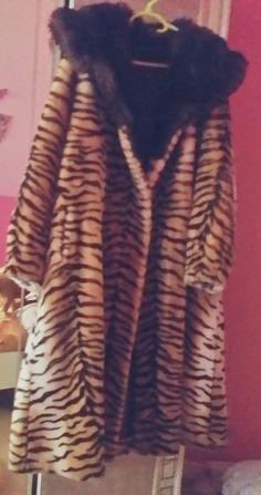 Super manteau fourrure long