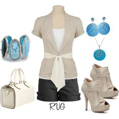 Something Blue, created by r-viviane16 on Polyvore
