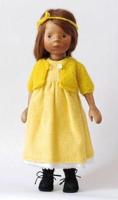 January 2010 Girl In Yellow H297E by Elisabeth Pongratz