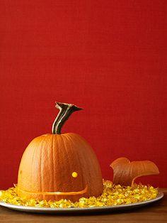 Preppy pumpkin carving